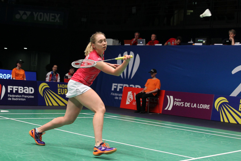BadmintonPeople Perminova gives Gilmour a scare