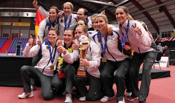 تیم بدمینتون زنان المان