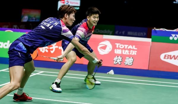 348557921a China lead the way in the quarter final of the Sudirman Cup against  Denmark, after going ahead in th.
