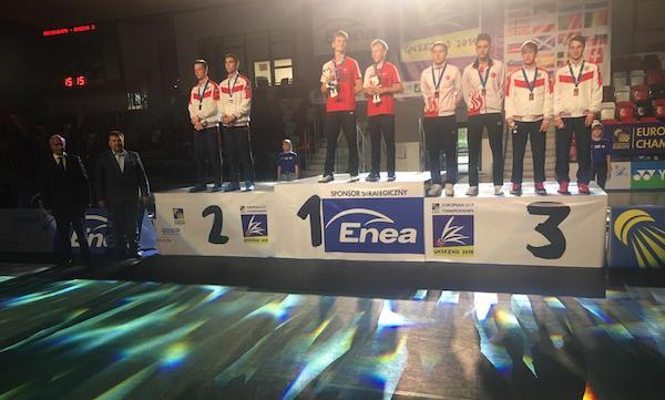 BadmintonEurope com - Front page